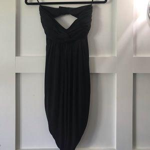 Gorgeous black strapless dress